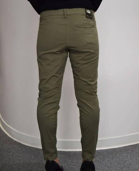 Pantalón baggy loneta