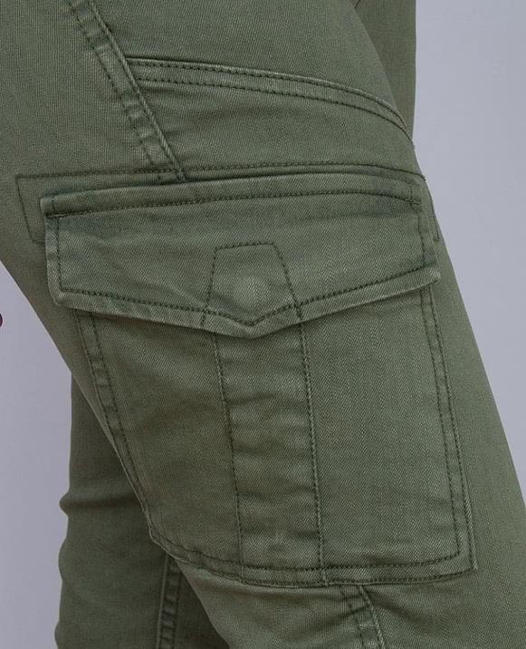Pantalón cargo loneta