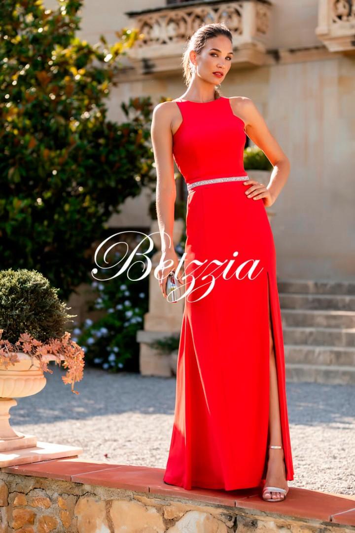 9b4749975f42 VESTIDO LARGO ENTALLADO   Guinea Fashion Chic